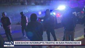 SFPD investigating Saturday night sideshow activity