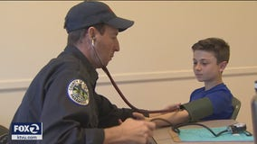 Health professionals volunteer to conduct heart screenings on teens and young adults