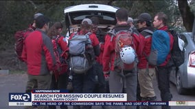 Searchers return to Inverness to look for missing Palo Alto couple