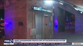 BART train dispute turns to elevator scuffle involving knife, stun gun and Mace