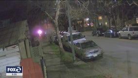 San Jose arson attack caught on camera