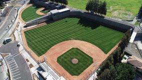 Mountain View baseball field doubles as flood basin