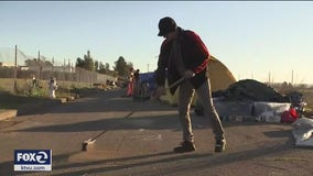 New Santa Rosa homeless encampment pops up not far from another that was just cleared