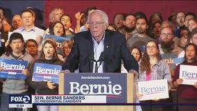 Sanders wins Nevada, speaks at Texas rally