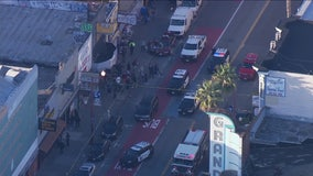 Pedestrians struck by vehicle in San Francisco