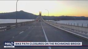 Richmond-San Rafael bridge bike and pedestrian path to close later this month