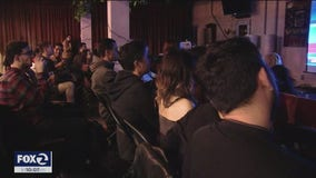 Friday Dem Debate draws large crowd to Mission District watch party