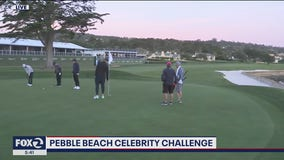Celebs prepare for Pebble Beach 3M Challenge