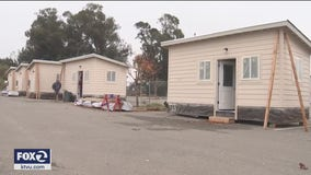 Castro Valley tiny home community opens in parking lot of First Presbyterian Church of Hayward