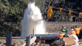 Construction accident floods Menlo Park development, prompts hotel evacuation