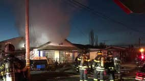 Vacant Santa Rosa home damaged in early morning fire