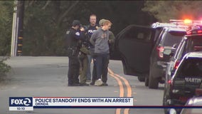 Orinda police standoff ends peacefully