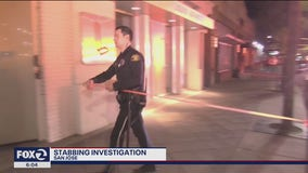 Investigation into double stabbing underway in San Jose
