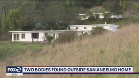Two bodies found outside San Anselmo home