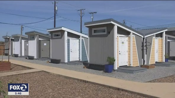 San Jose's first tiny home community for the homeless opens