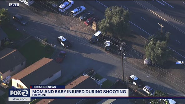 Woman and baby injured during shooting inside Fremont home; suspects flee