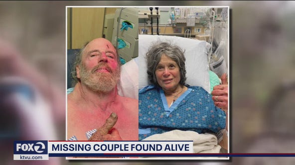 Palo Alto couple found alive after 8 days in wilderness, Sheriff calls it 'a miracle'
