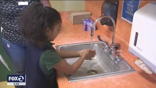 South Bay schools having students wash their hands to help prevent possible spread of virus