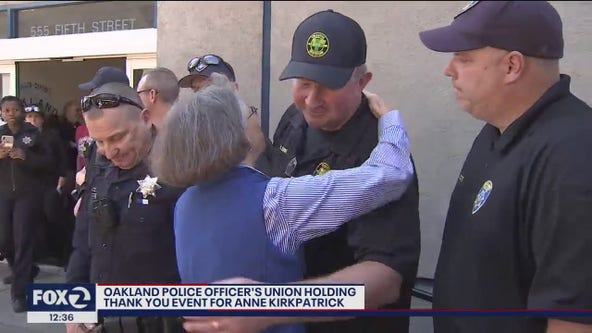 Passionate goodbye from ousted Oakland police chief at union gathering