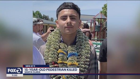 Family heartbroken after 15-year-old pedestrian killed in Santa Clara crosswalk