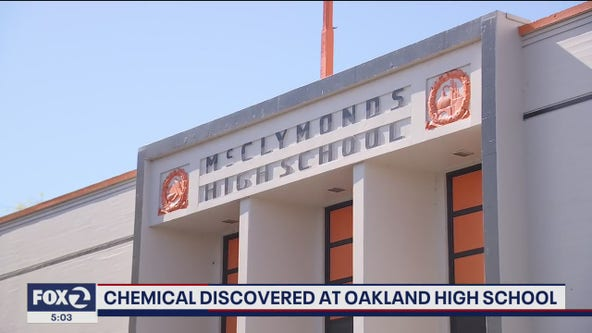 Toxic substance experts evaluating air around McClymonds High School