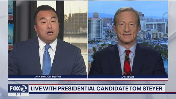 One-on-one with presidential candidate Tom Steyer