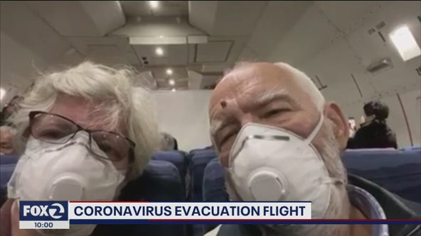 Charter jets bring 340 Americans on board cruise ship to Travis Air Force Base