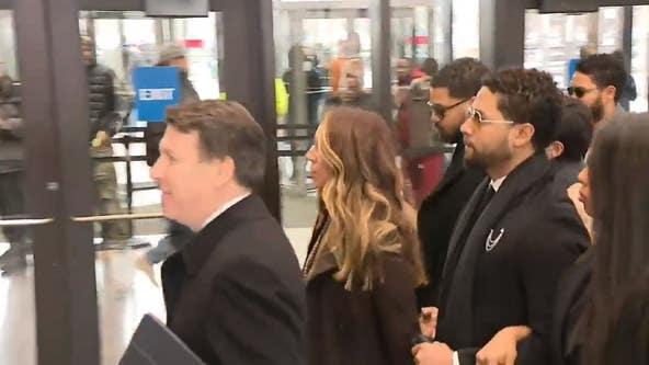 Jussie Smollett in court in Chicago Monday