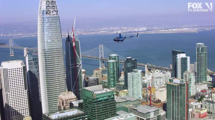 Helicopter filming for movie production to close downtown San Francisco streets