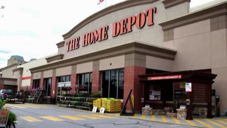 home depot KTTV from video