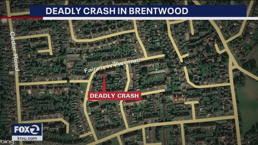 Man dies in Brentwood solo vehicle crash