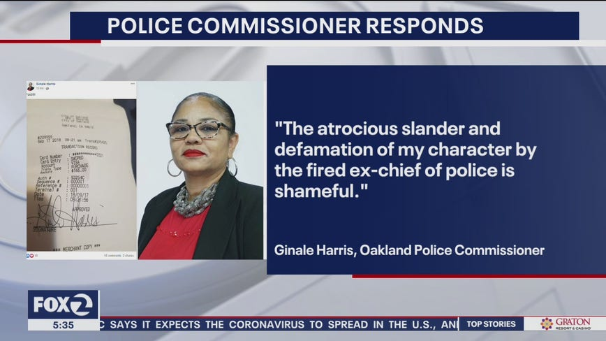 Police commissioner: 'Atrocious slander' by ex-OPD chief is 'shameful'