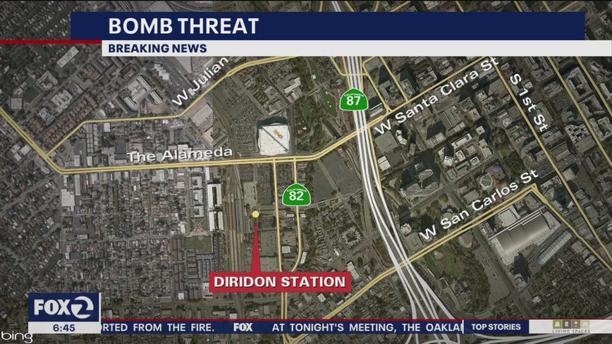 Bomb threat shuts down Diridon Station in San Jose