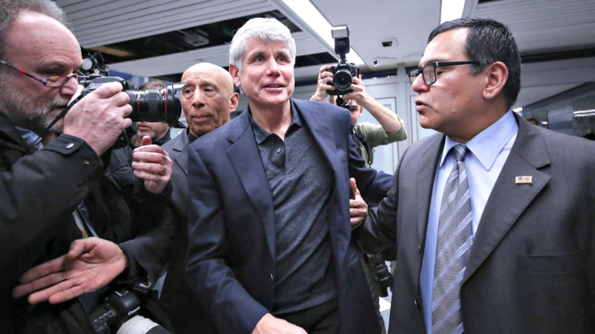 Rod Blagojevich arrives home in Chicago following Trump commutation