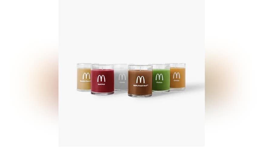 McDonald's launches set of candles with ingredients that smell like their popular Quarter Pounder