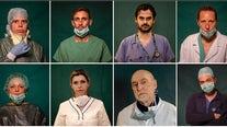 Italy's front-line coronavirus heroes, in portraits