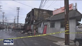 Investigators working to determine cause of massive Saturday night blaze in San Francisco