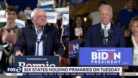 Six states holding primaries on Tuesday