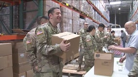 National Guard members assist Food Bank of Contra Costa & Solano