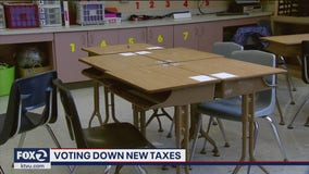 Statewide election results indicate voters are taxed out