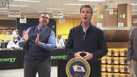 Gov. Gavin Newsom, Mayor Sam Liccardo speak at Bloom Energy in Sunnyvalek