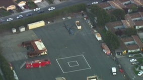 Helicopter carrying coronavirus test kits from Grand Princess cruise ship arrives in Richmond