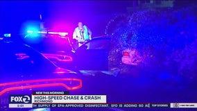 CHP: High-speed chase in Richmond ends in crash, arrest