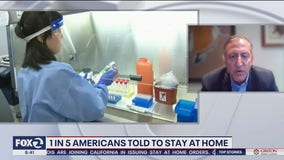 Infectious disease specialist disagrees with U.S. approach to coronavirus