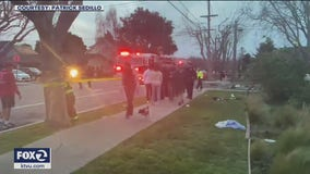 Four San Mateo boys hospitalized after Burlingame crash
