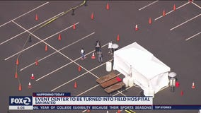 San Mateo County Event Center turns into emergency hospital; 10 deaths reported