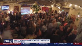 Supporters of different presidential candidates gather in SF for big watch party