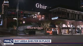 Day one of San Francisco shelter-in-place an eerie sight, says visitors