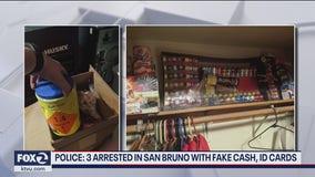 3 men arrested in San Bruno