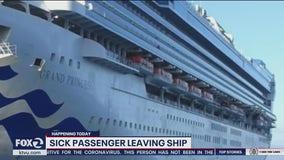 Sick Grand Princess passenger evacuated from ship